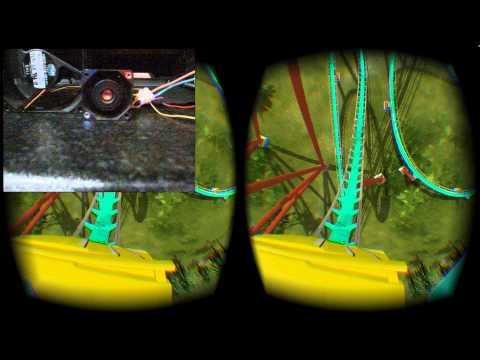 Simulated Wind Control - No Limts 2 - Oculus Rift DK2 - Motion Simulator
