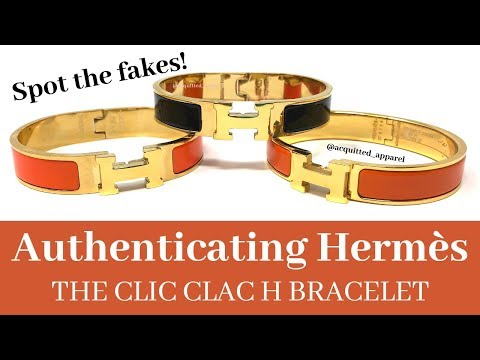 How To Authenticate Hermes Clic Clac H Bracelets - Spot The Fake - Guide