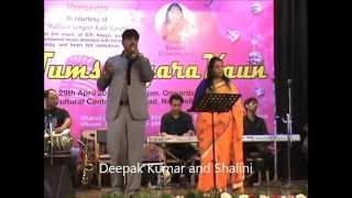 Abhi Na Jao Chhod kar sung by Shalini Peter and Deepak Kumar