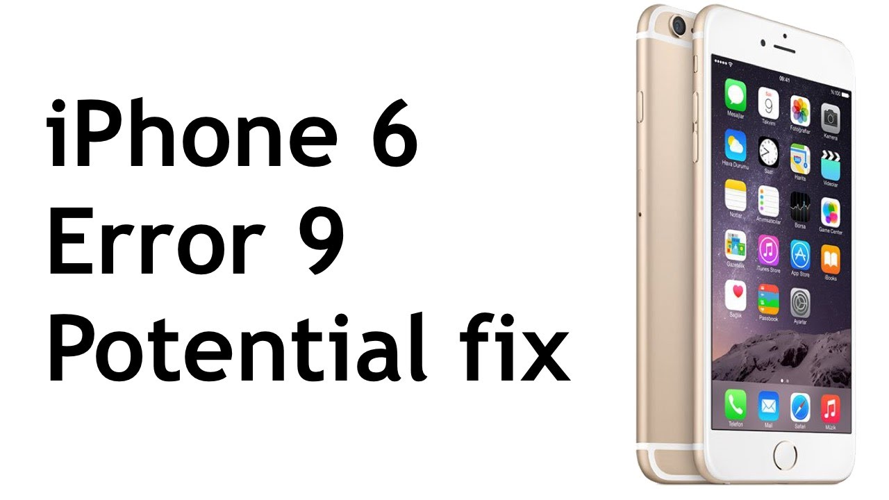 Image Result For How To Fix Iphone Error