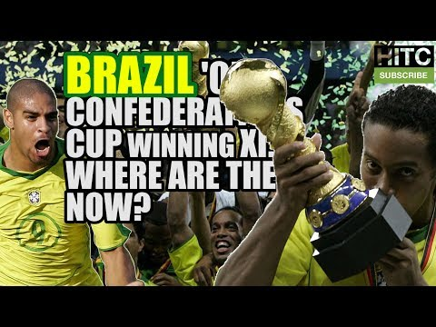BRAZIL'S 2005 Confederations Cup Winning XI: Where Are They Now?