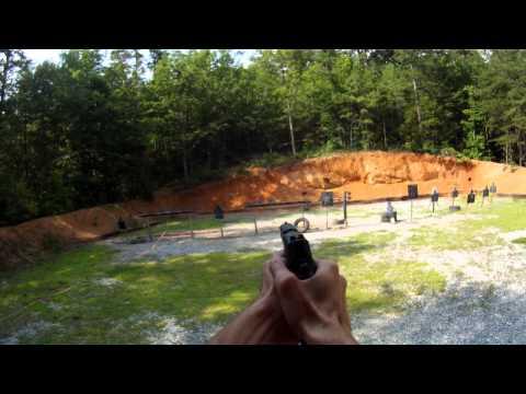 Pistol Shooting Steel Challenge Practice 2