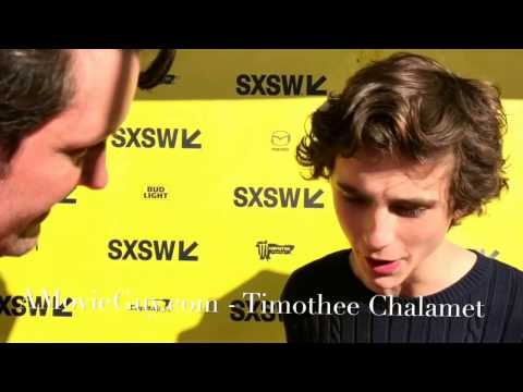 Timothee Chalamet Red Carpet Interview Hot Summer Nights