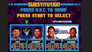 NBA JAM gameboy advance gameplay