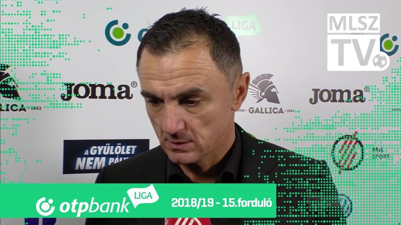 Edzői értékelések az Újpest FC - Paksi FC mérkőzésen