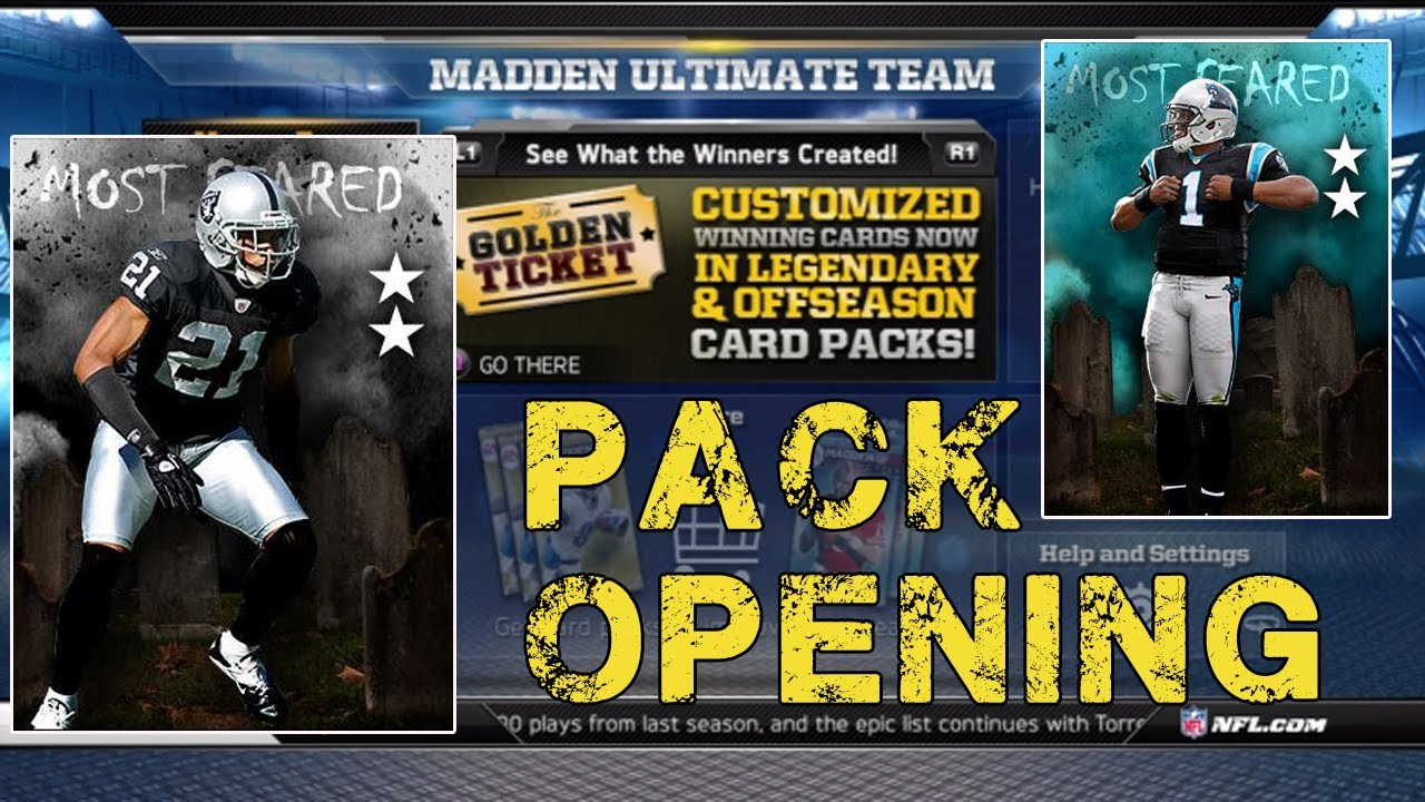 Madden NFL 13 GT Pack Opening Madden 13 Ultimate Team MUT 25 Madden Ultimate Team 13