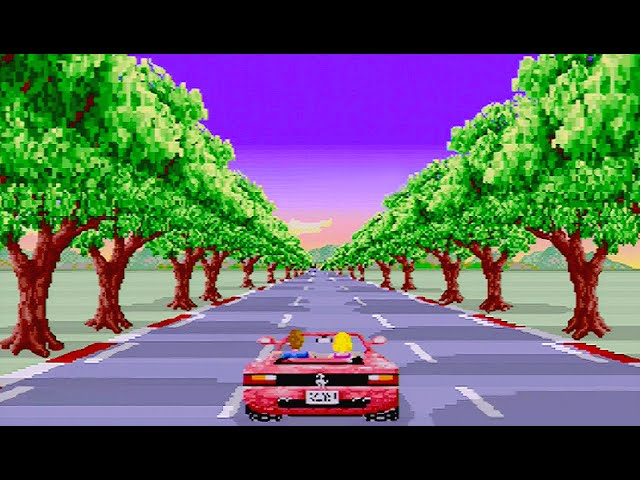 SEGA AGES: OutRun (1996) SMOOTH MODE (60 FPS) ALL COURSES & ENDINGS / SEGA Saturn / iPlaySEGA