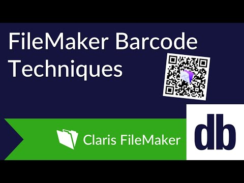 FIleMaker Barcode Techniques