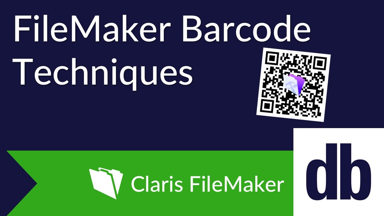 FileMaker Barcode Techniques | DB Services