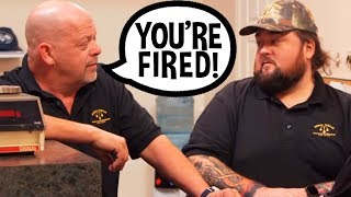 Rick Harrison Fires Chumlee Over Huge Loss - Pawn Stars