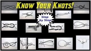 Know Your Knots! (STEP BY STEP GUIDE)