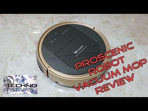 Proscenic 790T WIFI Robotic Vacuum Cleaner and Robotic Mop Review | Coolest Robot Ever???