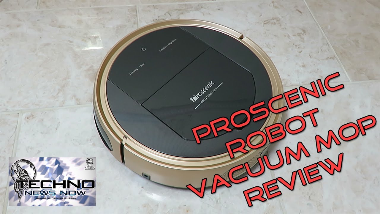 Proscenic 790t Wifi Robotic Vacuum Cleaner And Robotic Mop