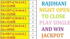 RAJDHANI NIGHT SATTA MATKA OPEN TO CLOSE 17-04-2020