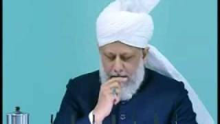Friday Sermon : 8th January 2010 - Part 3 (Urdu)