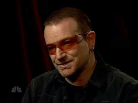 U2's Bono on Red, a anti-poverty, pro humanity campaign