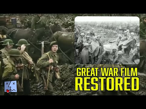Best restoration of WW1 footage | They Shall Not Grow Old