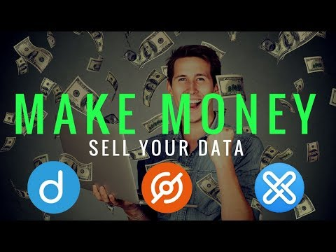 MAKE MONEY By Selling Your Data - GXChain, Datum, DataCoin, and Bottos Mp3