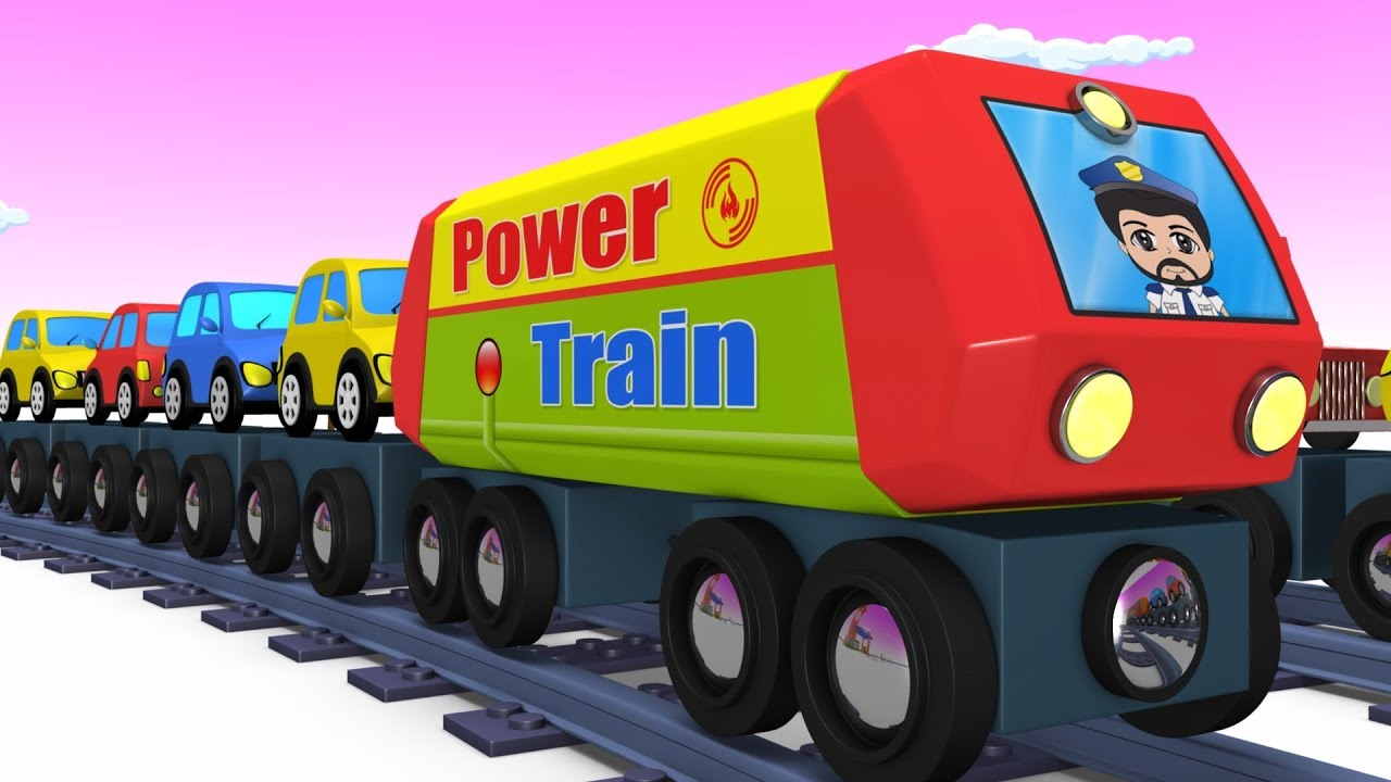 Trains For Kids Choo Choo Train Kids Videos For Kids