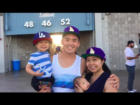 f9c6f3f43e2 First Time At A Baseball Game. Laker Night At Dodger Stadium - Daily Vlog  357 - August 9th
