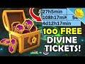 Get 100 More DIVINE TICKETS! BOSS CHALLENGE Event Cooldowns Revealed! - DML #1106