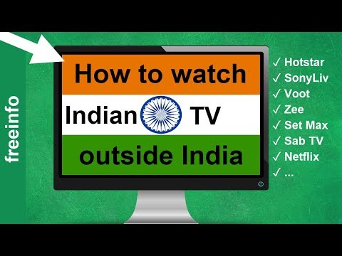How To Watch Indian TV Outside India Abroad (2020)