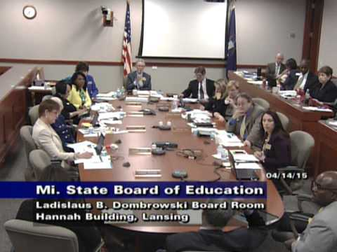 April 15, 2015 State Board of Education Meeting - Afternoon Session