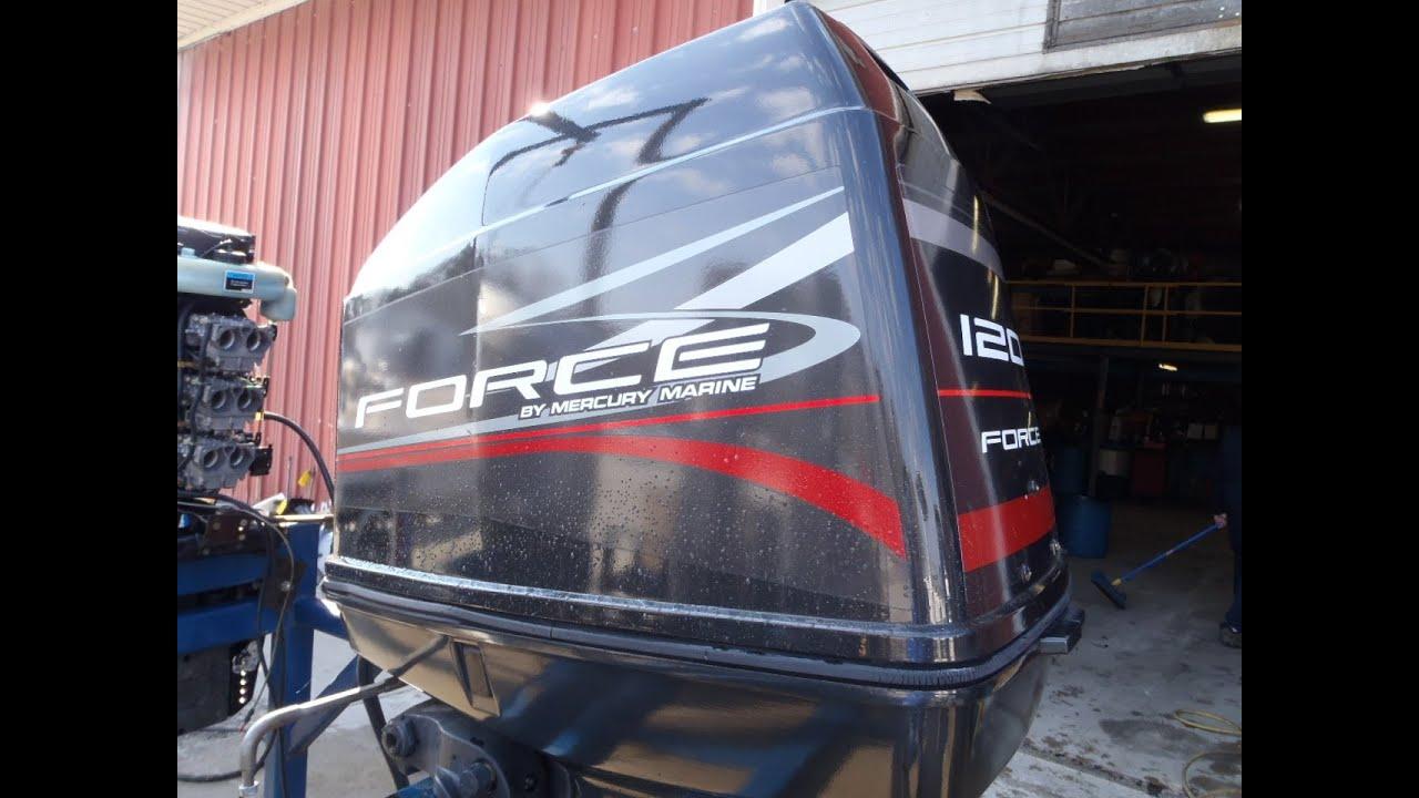 6m1b43 Used 1999 Force 120elpt 120hp 2