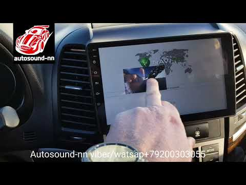 "Штатная Магнитола SP IPS Hyundai Santa Fe 9""(8 ядер 2/32)android 8.1"