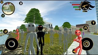 Real Stickman Android Game#19 Stickman Team    byNaxeex Corp   GamePlay FHD