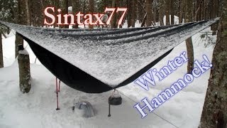 Winter Hammock Camping in the Adirondacks