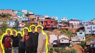 VISITING A CHILEAN SLUM- VALPARAISO TOUR (DAY 7)!