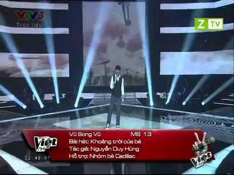 Giọng Hát Việt Nhí - Vũ Song Vũ  - Khoảng Trời Của Bé - Tập 12 Liveshow3 17/8/2013 - Video Clip HD