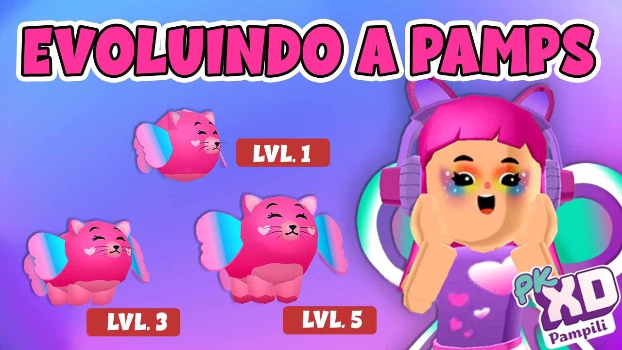 PK XD | EVOLUINDO O NOVO PET PAMPS