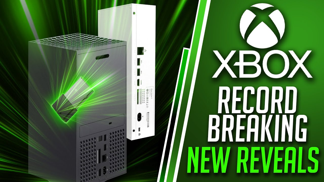 Xbox Talks RECORD BREAKING Xbox Series X/S Pre Orders | EXPENSIVE Xbox Series X SSD Price Revealed