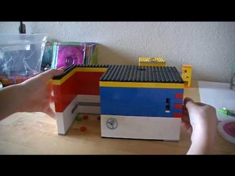 how to make a lego candy machine that takes money
