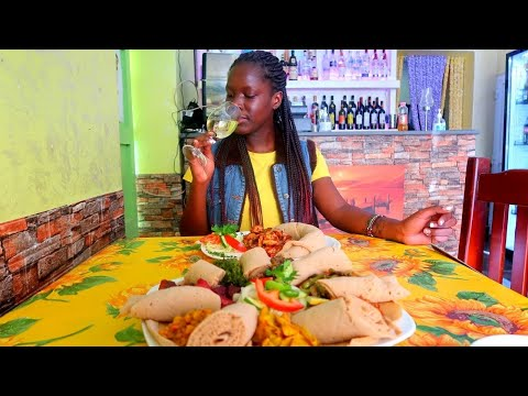FIRST TIME EATING ETHIOPIAN FOOD – INJERA
