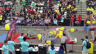 2018 FRC Power Up 5417 Allen Houston Lonestar Central Regional Week 3 Qm-#38 qm#38 #2018txho