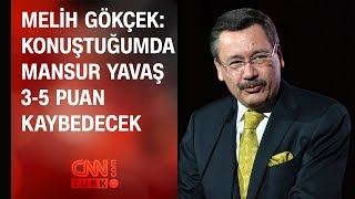 Melih Gökçek 39 ten CNN TÜRK 39 e Mansur Yavaş açıklaması