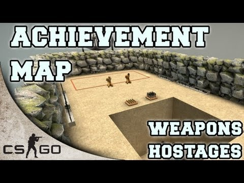 CS:GO Achievement Map ▪ Hostages and Weapons ▪