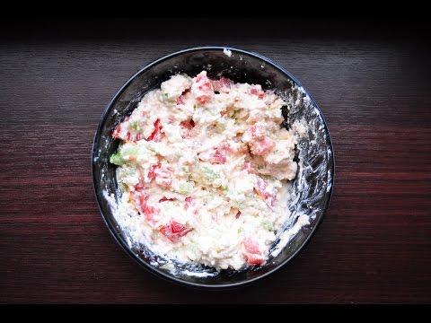 Жиросжигание: творог с сельдереем и помидором [спортивная диета]