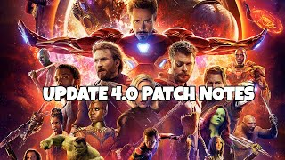 UPDATE 4.0 OFFICIAL PATCH NOTES | Marvel Future Fight