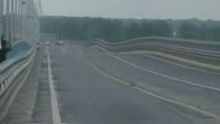 Russian authorities close wobbly bridge thumbnail