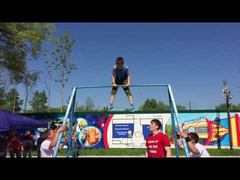 Street workout kid - Khabarovsk day
