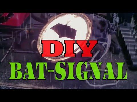 The Batman Batsignal Diy