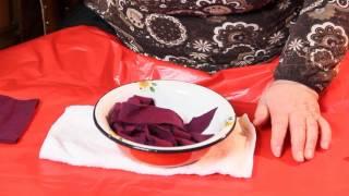 Как сделать пряжу из старого свитера