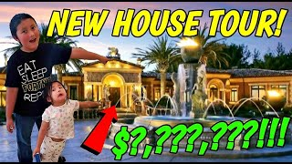 NEW HOUSE TOUR!! WE'RE MOVING!! COME LOOK INSIDE THE NEW HOME WE BOUGHT! HUGE UPDATE!