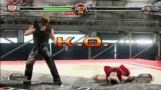 Virtua Fighter 5 FS: Jacky Bryant Gameplay