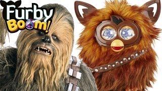 Фурбакка Звездные войны Ферби Бум обзор на русском языке Furby Furbacca Star Wars часть 1