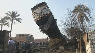 Под Каиром перевернулся пассажирский поезд (новости)